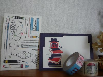 手紙舎で新作マステとポストカード_d0285885_14110033.jpg