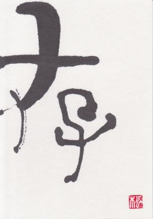 第11回書文通5月「総画6画の漢字」_d0285885_14112395.jpg
