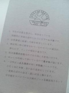 名刺サイズの大学ノート[Thinking Power Notebook/ツバメノートライモン]_d0285885_14114251.jpg