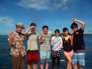ワイワイと楽しく潜ってきました!_f0144385_8453336.jpg