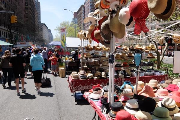 今年もニューヨークに、ストリート・フェアの季節がやってきました(5月開催情報付)_b0007805_5164226.jpg