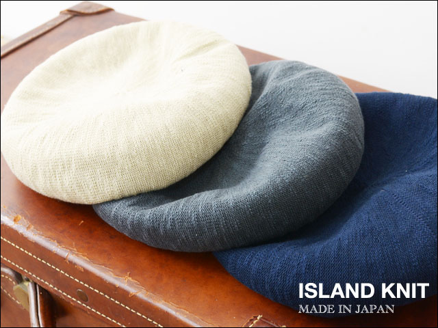 ISLAND KNIT WORKS [アイランドニットワークス] BIG BERET/ベレー帽 [IKW-A-40] MEN\'S / LADY\'S_f0051306_18474856.jpg