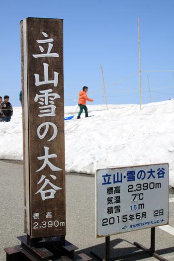 立山アルペンルート3 雪の大谷_e0048413_21301921.jpg