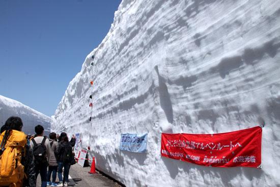 立山アルペンルート3 雪の大谷_e0048413_21303231.jpg