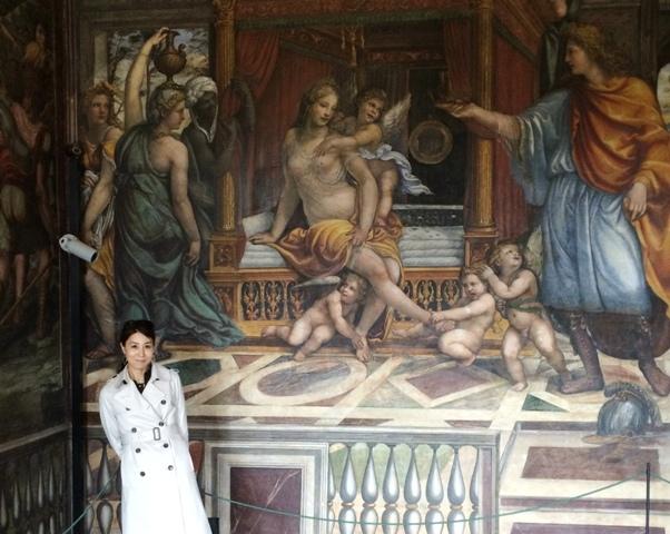 ローマの軌跡2、ルネサンスの宝石『ヴィッラ・ファルネージーナ荘』_a0138976_19581479.jpg