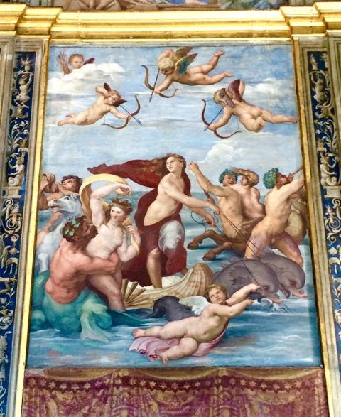 ローマの軌跡2、ルネサンスの宝石『ヴィッラ・ファルネージーナ荘』_a0138976_1958363.jpg