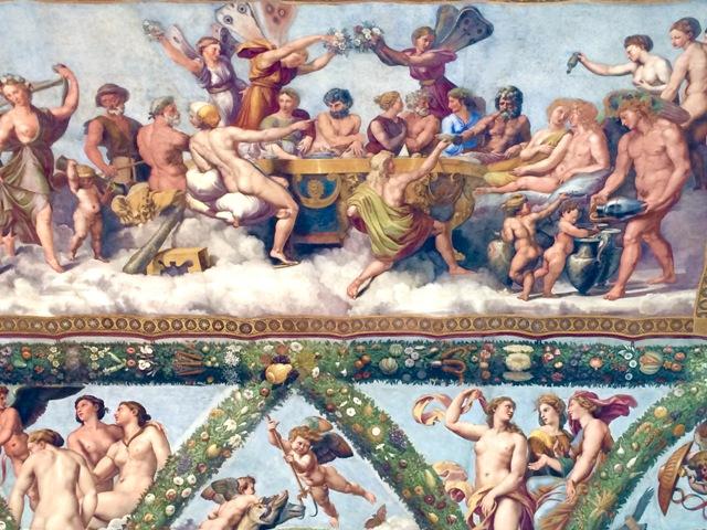 ローマの軌跡2、ルネサンスの宝石『ヴィッラ・ファルネージーナ荘』_a0138976_1959554.jpg