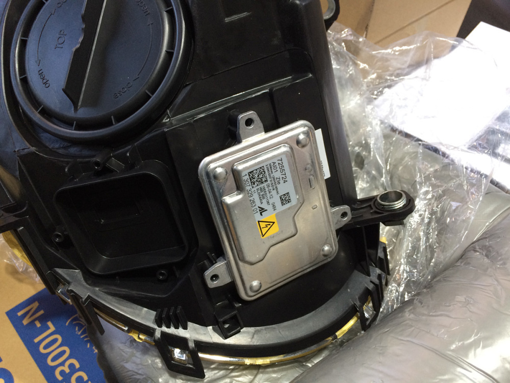MINI R56 インナーブラックヘッドライト交換_c0317377_18455867.jpg