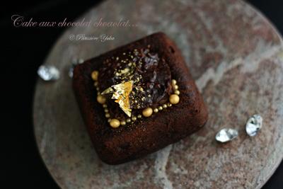 Pâtissière Yuka お菓子アルバム ~Noël 2014~ 「Cake aux chocolat chocolat」_c0138180_2113794.jpg