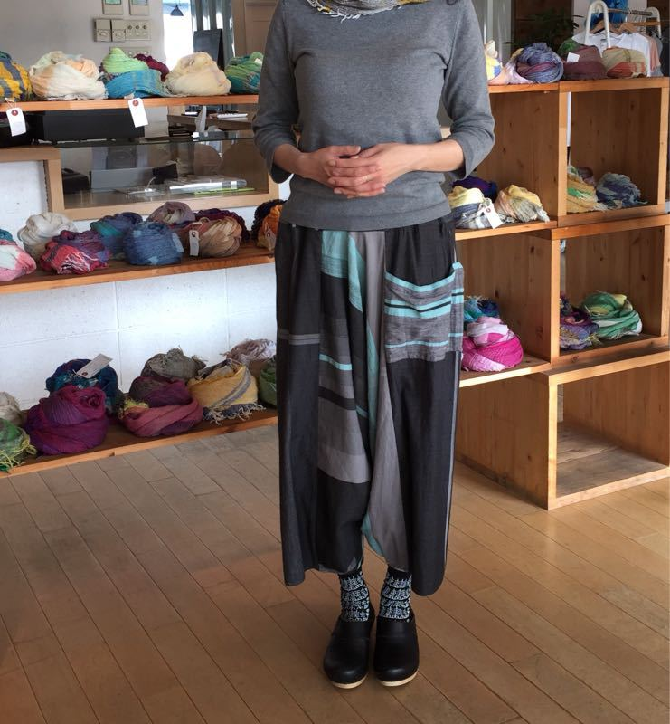 玉木新雌さん only one tarun pants_f0212293_13113357.jpg