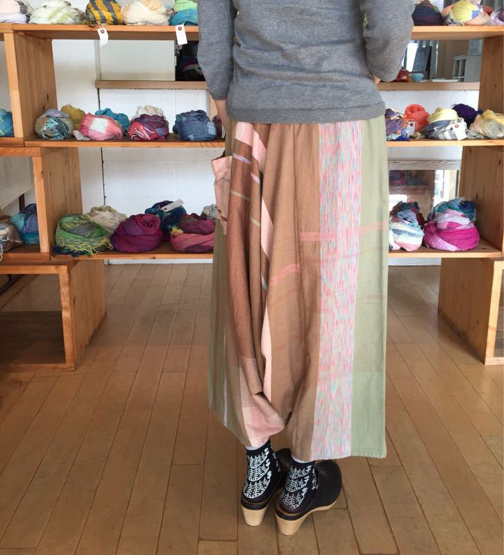 玉木新雌さん only one tarun pants_f0212293_13113484.jpg