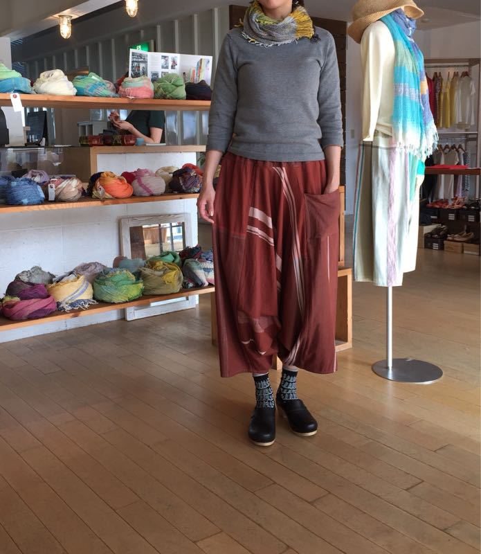 玉木新雌さん only one tarun pants_f0212293_13113727.jpg