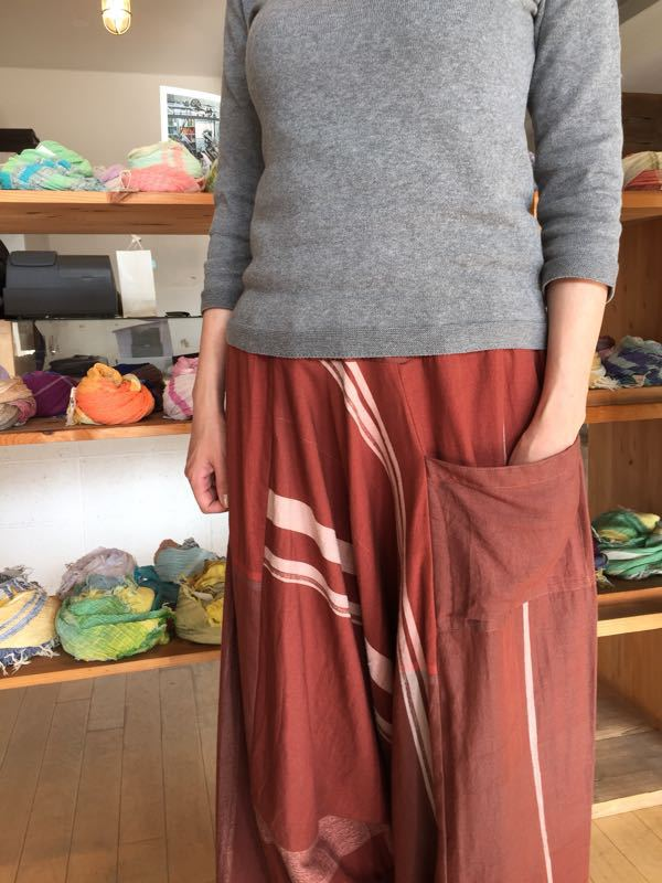 玉木新雌さん only one tarun pants_f0212293_13113817.jpg