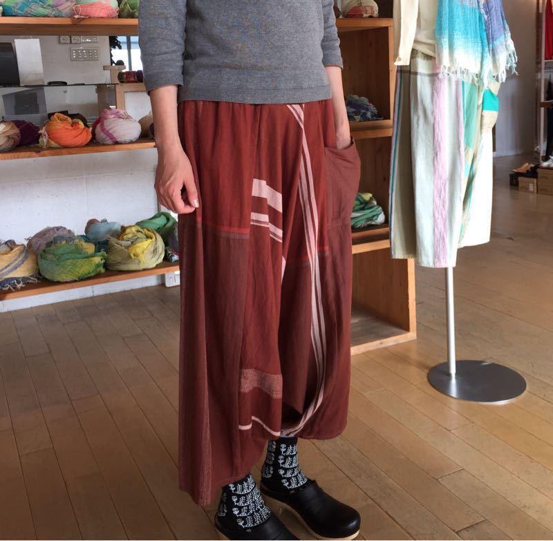 玉木新雌さん only one tarun pants_f0212293_13113912.jpg