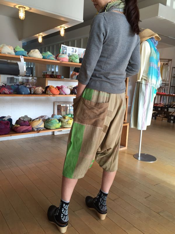 玉木新雌さん only one tarun pants_f0212293_13114280.jpg