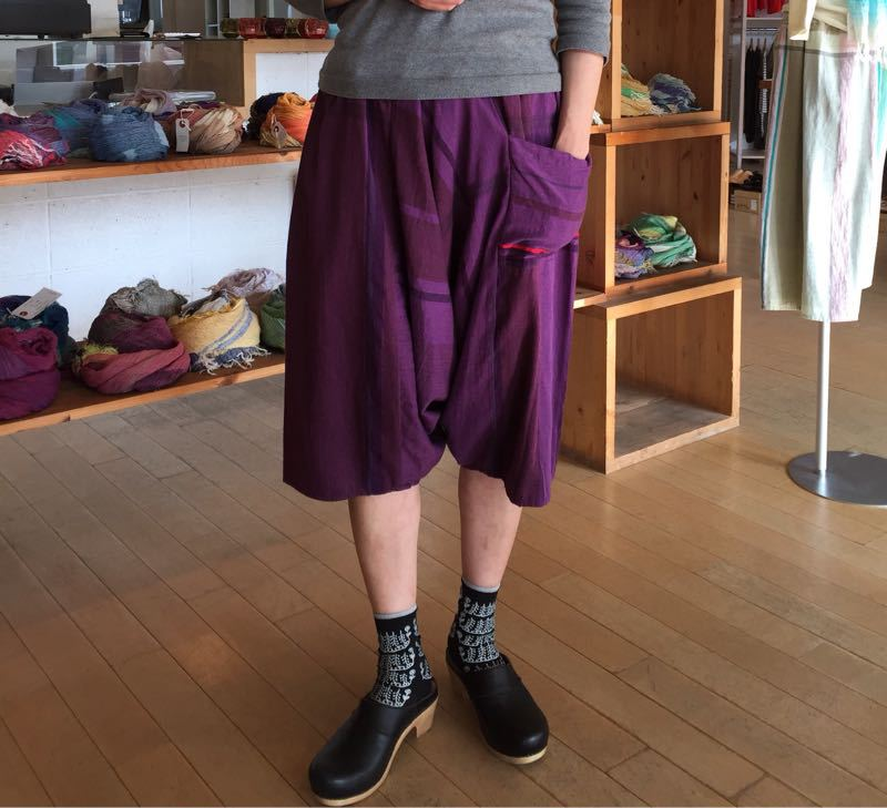 玉木新雌さん only one tarun pants_f0212293_13114326.jpg