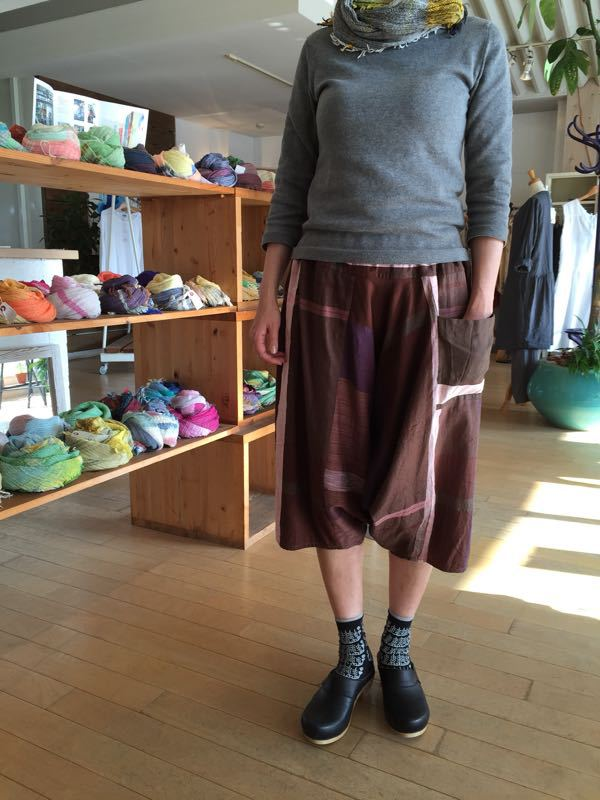 玉木新雌さん only one tarun pants_f0212293_1311467.jpg