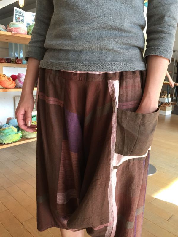 玉木新雌さん only one tarun pants_f0212293_13114795.jpg