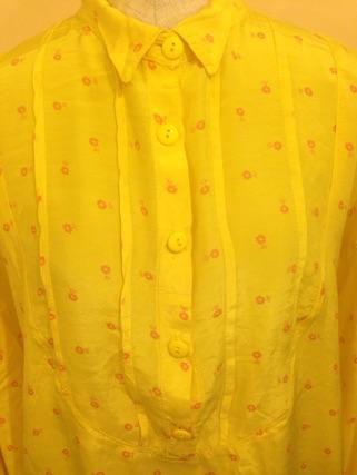 藤の花と花柄ロングシャツ_e0268298_16354064.jpg