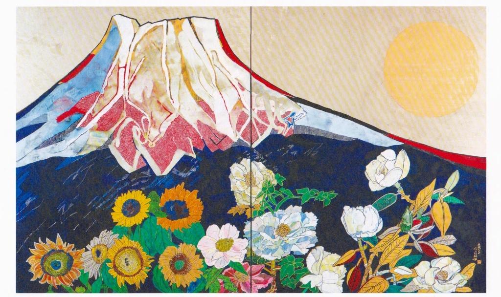 富士山 片岡球子展覧会 国立近代美術館_f0050534_08131222.jpg