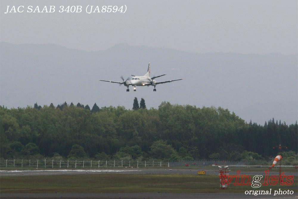 '15年 鹿児島空港レポート・・・JAC/JA8594_f0352866_2102652.jpg