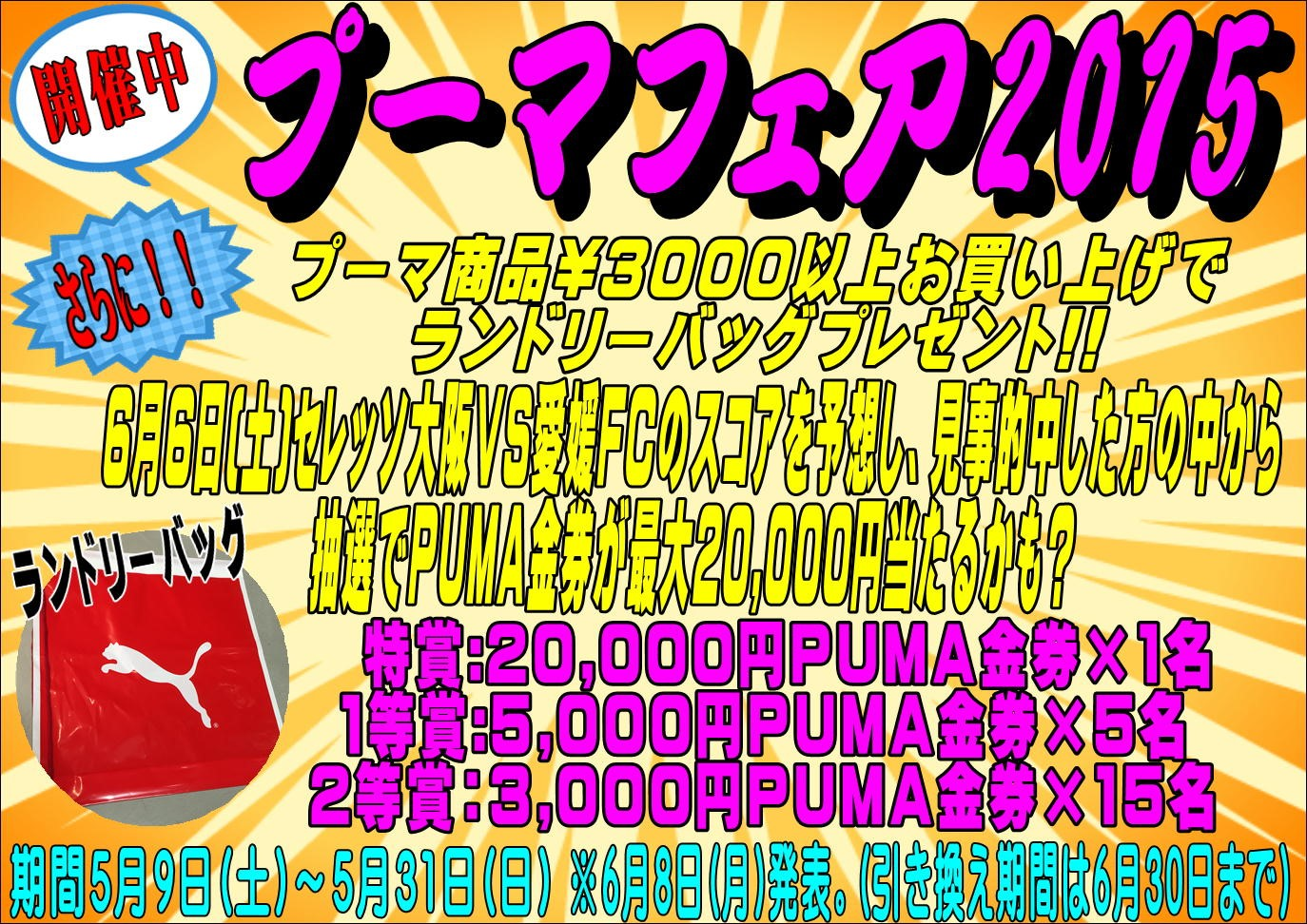 プーマフェア_e0157573_15221666.jpg