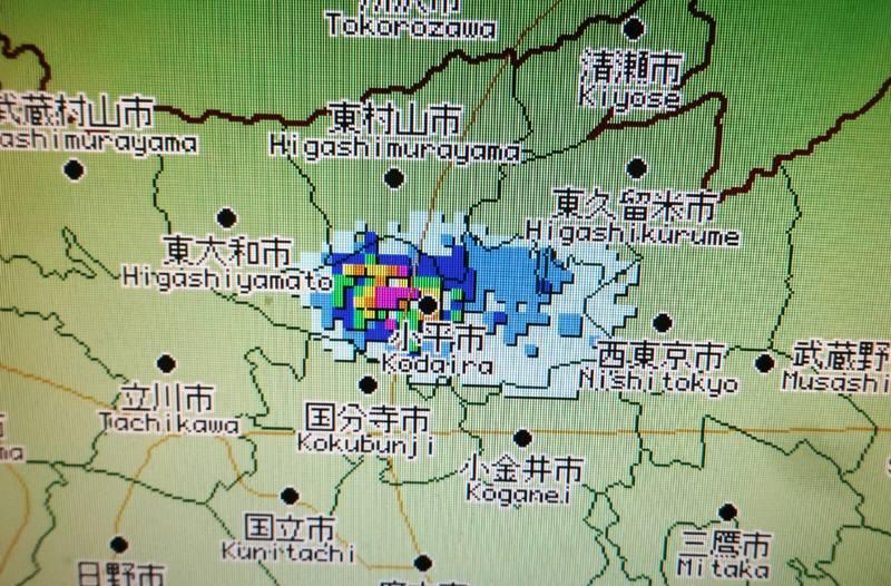 都内で小平だけ雨_f0059673_19195435.jpg