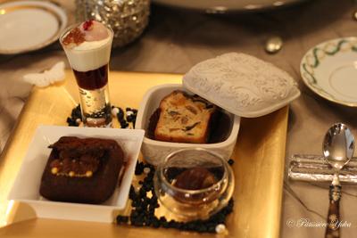 Pâtissière Yuka お菓子アルバム ~Noël 2014~ 「Cake aux chocolat chocolat」_c0138180_16263881.jpg