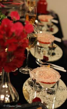 Pâtissière Yuka お菓子アルバム ~St-valentin ③~ 「Brownies」&「Mousse au chocolat blanc」_c0138180_18115852.jpg