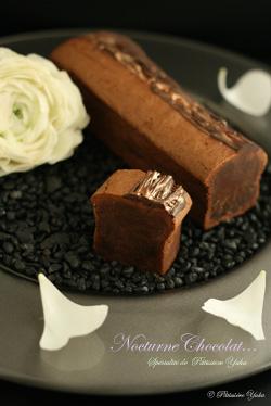 Pâtissière Yuka お菓子アルバム ~St-valentin ②~ 「Nocturne chocolat」&「Sablés au parmesan」_c0138180_18441572.jpg