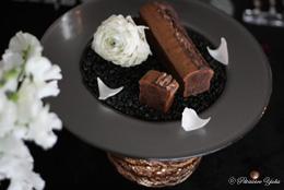 Pâtissière Yuka お菓子アルバム ~St-valentin ②~ 「Nocturne chocolat」&「Sablés au parmesan」_c0138180_18465870.jpg