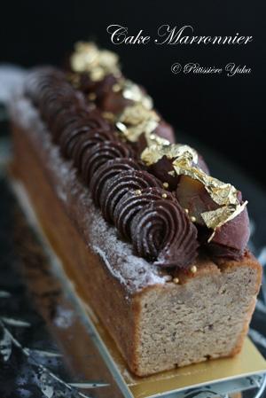 Pâtissière Yuka お菓子アルバム Ⅱ-⑫ 「Cake Marronnier」_c0138180_20305683.jpg