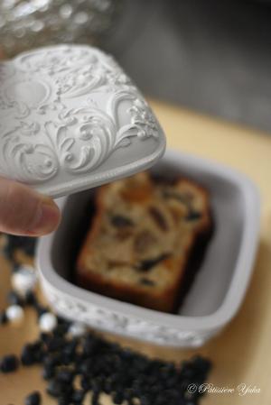 Pâtissière Yuka お菓子アルバム Ⅱ-⑪ 「Cake aux fruits」_c0138180_21345688.jpg