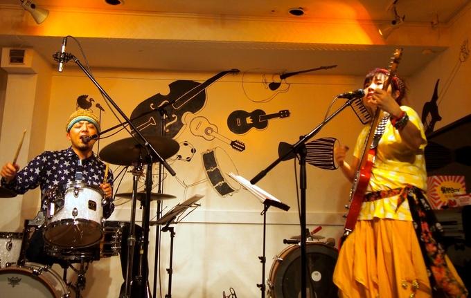 キナちゃんねるLIVE 14   guest:ANTON(大太鼓・Drum)_f0115311_1512513.jpg