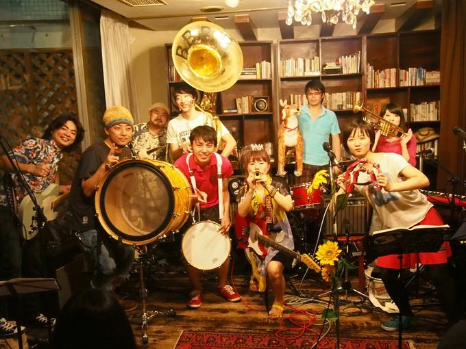 キナちゃんねるLIVE 14   guest:ANTON(大太鼓・Drum)_f0115311_1521518.jpg