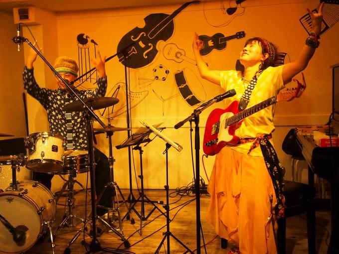 キナちゃんねるLIVE 14   guest:ANTON(大太鼓・Drum)_f0115311_15273284.jpg