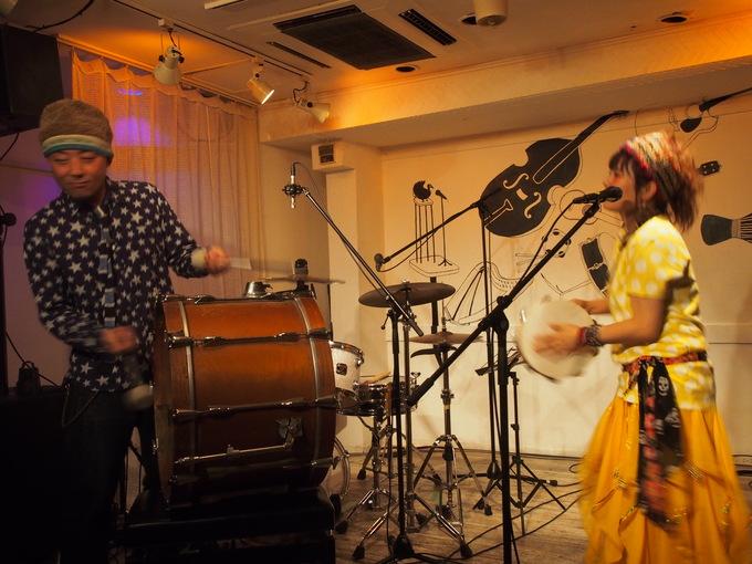 キナちゃんねるLIVE 14   guest:ANTON(大太鼓・Drum)_f0115311_15333923.jpg
