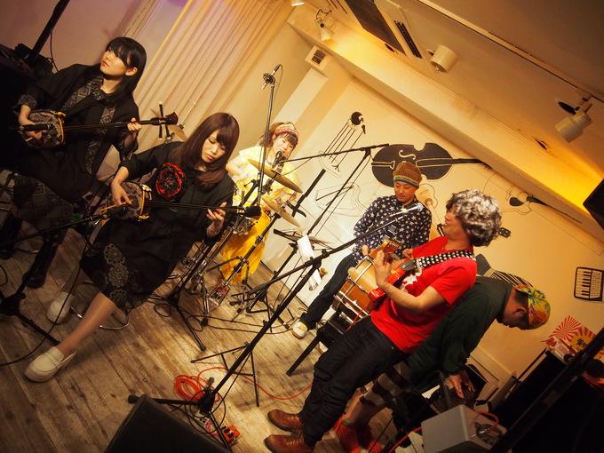 キナちゃんねるLIVE 14   guest:ANTON(大太鼓・Drum)_f0115311_15362074.jpg