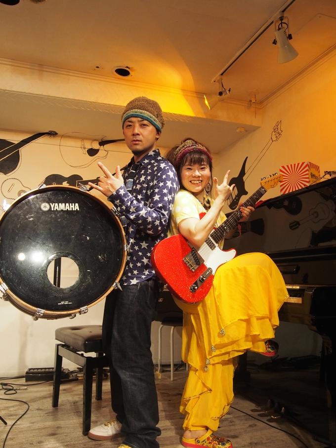 キナちゃんねるLIVE 14   guest:ANTON(大太鼓・Drum)_f0115311_1538272.jpg