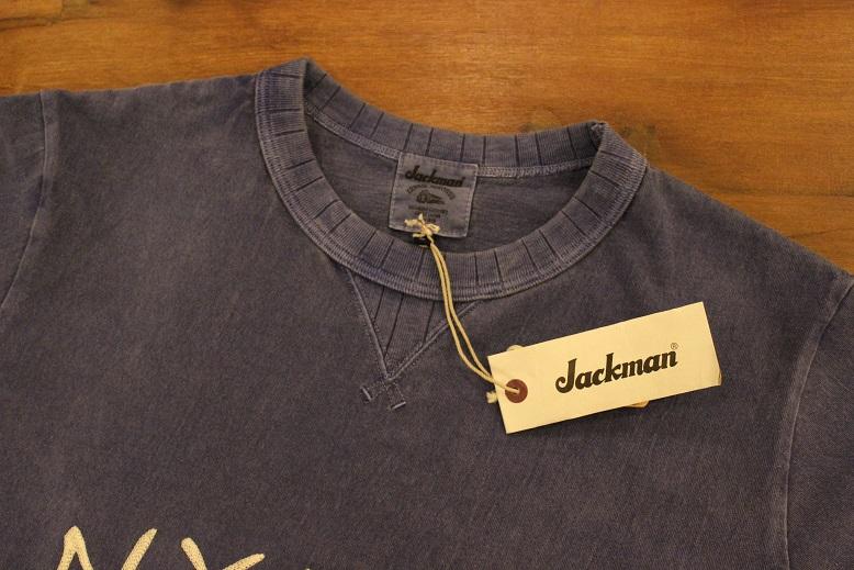 "Jackman \""FREEMAN別注 刺繍T-SHIRTS\"" ご紹介_f0191324_9454837.jpg"
