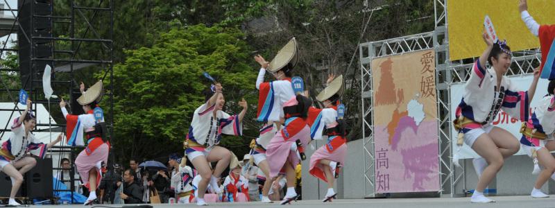 四国の祭り 2015 徳島文理大学連 / 阿波踊り_d0246136_14545779.jpg