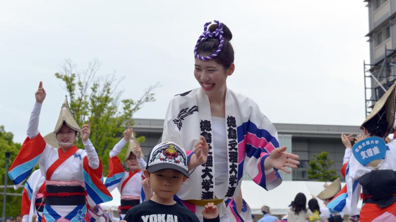 四国の祭り 2015 徳島文理大学連 / 阿波踊り_d0246136_14572159.jpg