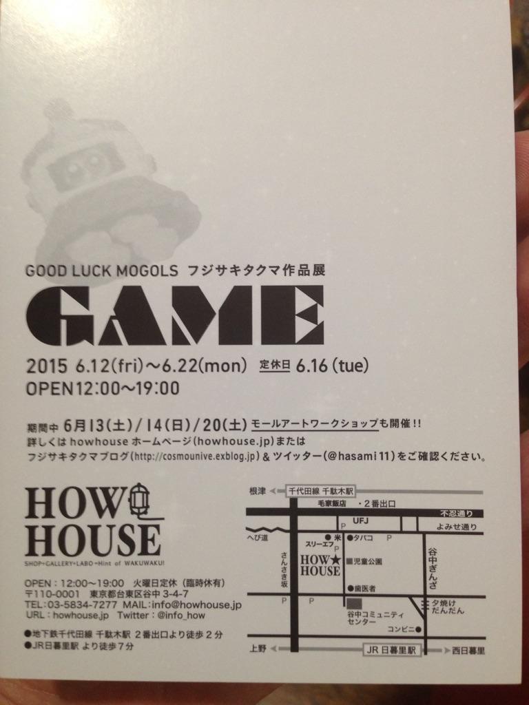 モールアート展覧会  「GAME展」_a0136846_2226549.jpg