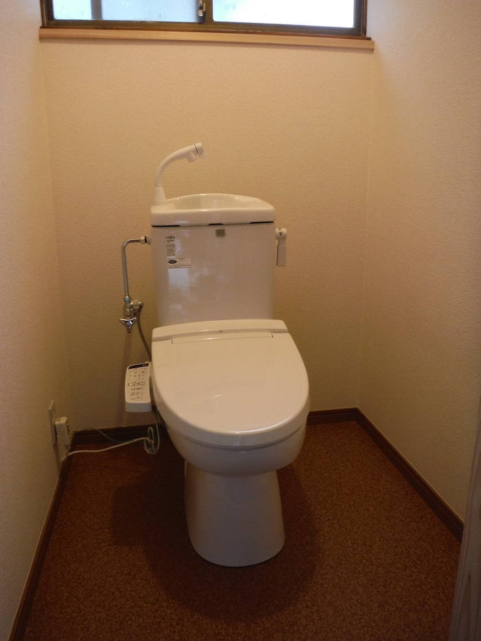 和式を洋風トイレへ改装 ~ 完成です。_d0165368_5332224.jpg