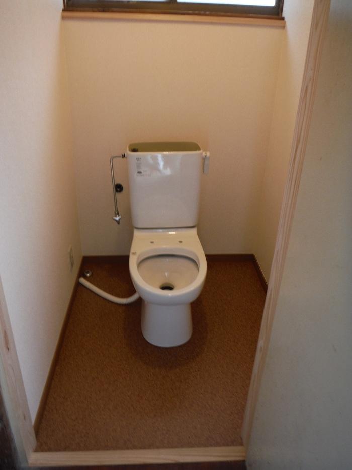 和式を洋風トイレへ改装 ~ 完成です。_d0165368_533398.jpg