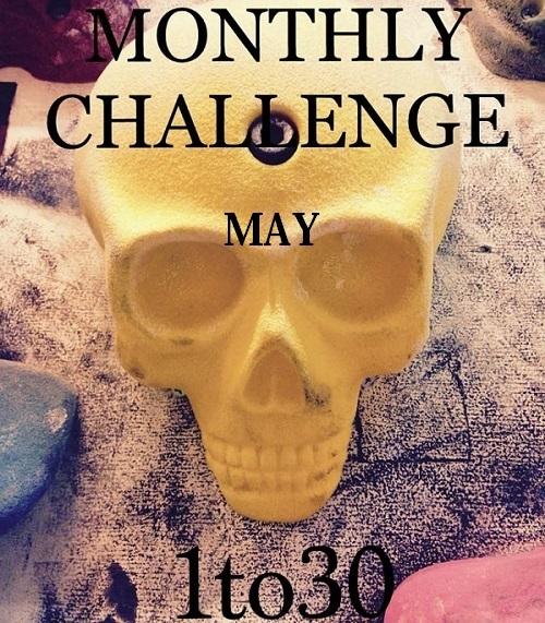 MONTHLY CHALLENGE 更新_d0246875_12522894.jpg