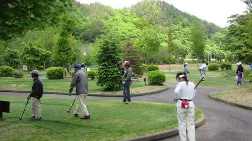 2015第3回パークゴルフ定期大会の様子_b0219993_17425019.jpg