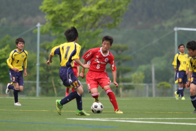 U-15 クラブユース選手権 ブロック予選 仙台中田戦 May 9, 2015_c0365198_15390409.jpg