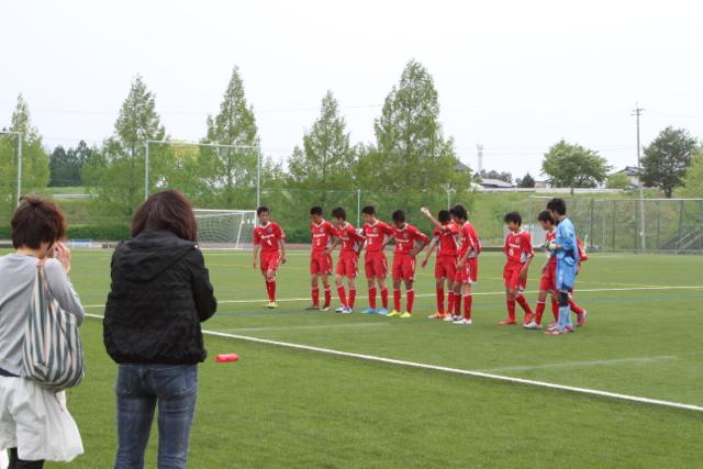 U-15 クラブユース選手権 ブロック予選 仙台中田戦 May 9, 2015_c0365198_15393240.jpg