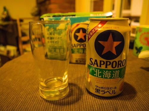 今年も出ました・・「北海道限定 黒ラベル」 飲みますよ~!_f0276498_23113463.jpg